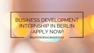 Internship in Berlin –Business Marketing Intern in Freelance Consultant Agency