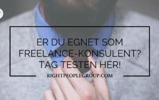 Er du egnet som freelance konsulent? Tag testen!