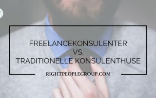 Freelancekonsulenter vs traditionelle konsulenthuse