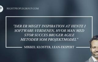 Lean-ekspert Mikkel Kloster