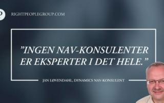 Dynamics NAV-konsulentDynamics NAV-konsulent