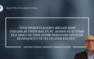 IT-Projektleder Dennis Iversen