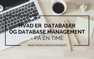 databaser og database managemet