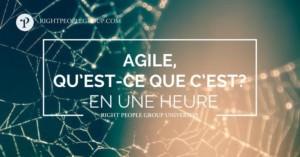 Qu'est-ce que l'approche Agile ?