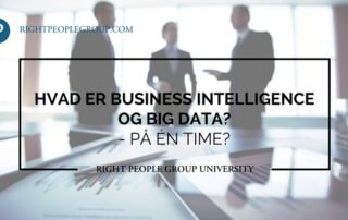 Hvad er Business intelligence og big data?