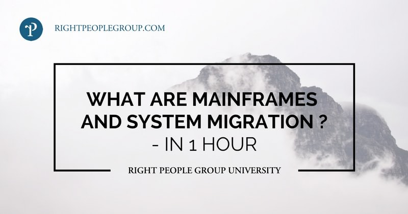 What are Mainframes and System Migration?