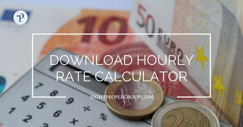 Calculate your hourly rate as a contractor – download hourly