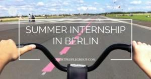 Summer Internship at Right People Group in Berlin