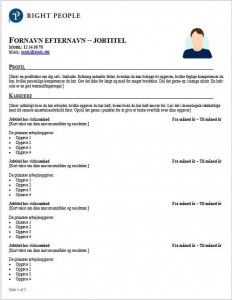 download free cv template for it contractors and get sharp resume today