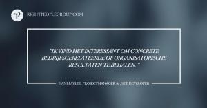 .NET developer en projectmanager Hani Faylee – 10 vragen voor de expert