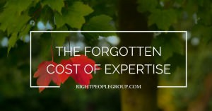 The forgotten cost of expertise