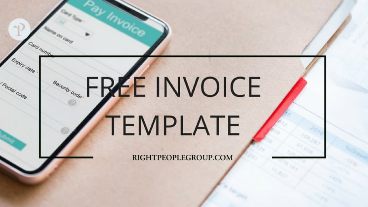 Free Invoice Template In Excel Download It Now And Create A Correct Invoice