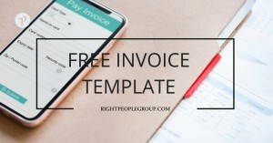 Free Invoice template in Excel – easily create a correct invoice