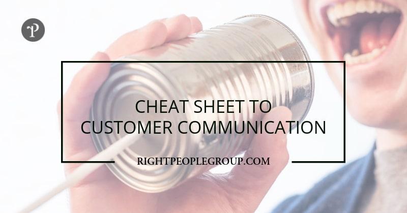 DISC profile cheat sheet for customer communication