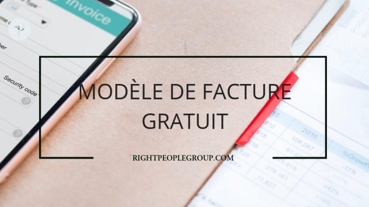Modele De Facture Gratuite Sur Excel Telechargez Et Editez Une Facture Correct