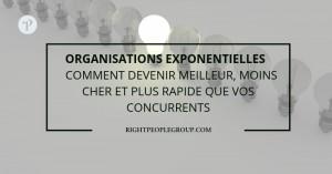 Organisations exponentielles – Comment devenir meilleur, moins cher et plus rapide que vos concurrents?
