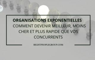 Organisations exponentielles - Comment devenir meilleur, moins cher et plus rapide que vos concurrents?