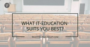 Which IT education suits you best?