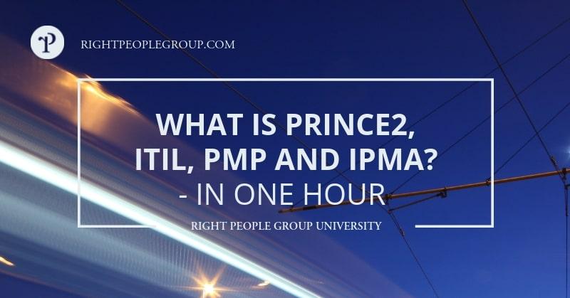 Hvad er PRINCE2, ITIL, PMP og IPMA?