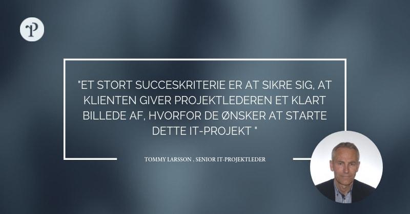 Senior IT Projektleder, Tommy Larsson – 10 spørgsmål til eksperten