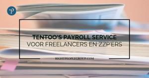 Tentoo's payroll service voor freelancers en zzp'ers