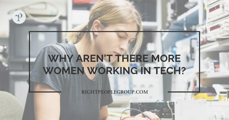 Hvorfor er der ikke flere kvinder i tech-branchen?