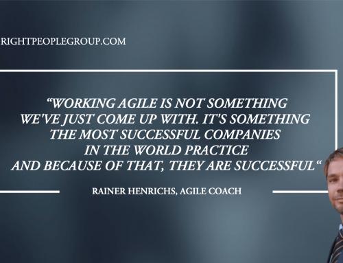 Agil coach, Rainer Henrichs – 12 frågor till experten