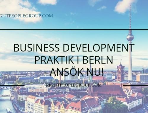 Business Development praktik i Berlin
