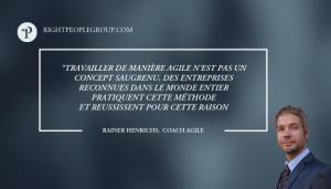 Citation Rainer Henrichs, Coach Agile