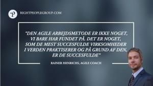 Agile Coach, Rainer Henrichs – 12 spørgsmål til eksperten