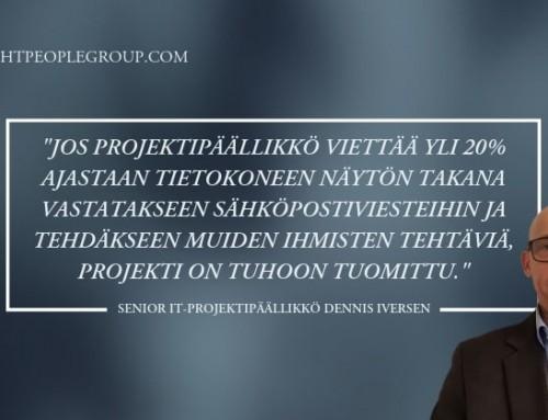 Dennis Iversen, Senior IT-projektipäällikkö – 10 kysymystä freelance-asiantuntijalle