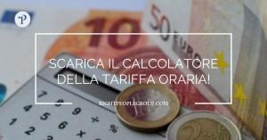 Scarica il calcolatore della tariffa oraria