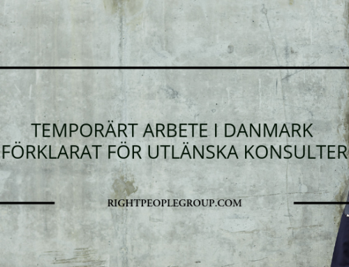 Temporärt arbete i Danmark som utländsk konsult