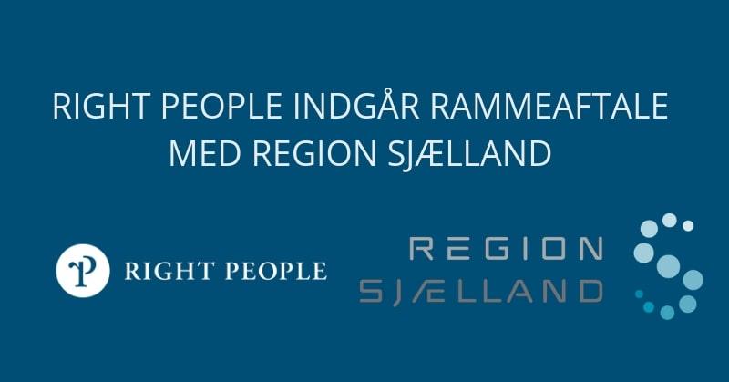 Region Sjælland vælger Right People Group som leverandør på rammeaftale om IT-konsulentydelser