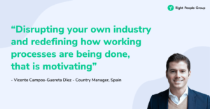 Meet the right people team - Vicente Campos Guertera