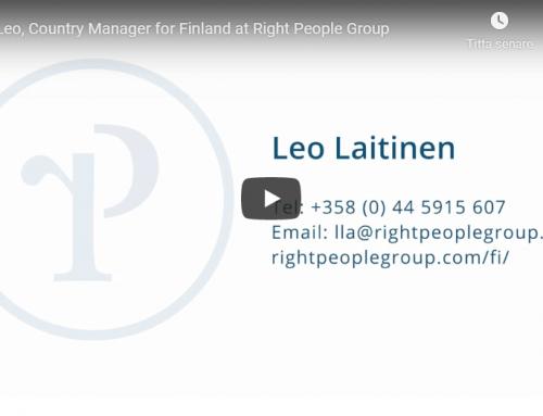 Tutustu Right People Groupin tiimiin – Suomi