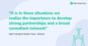 Meet the right people team - France