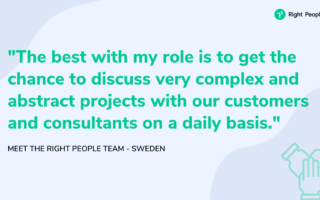 Meet the right people team – Sweden