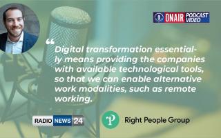 Right People Group meet Radio News 24 – Smart Working & Digital Transformation