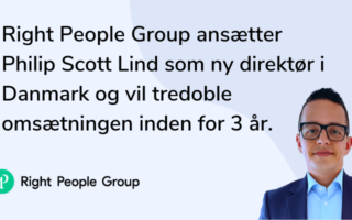 Right People Group ansætter ny direktør i Danmark og vil tredoble omsætningen inden for 3 år